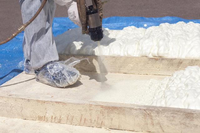 spray foam insulation cost Springfield